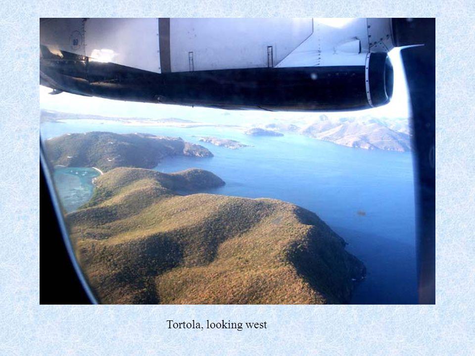 Tortola, looking west