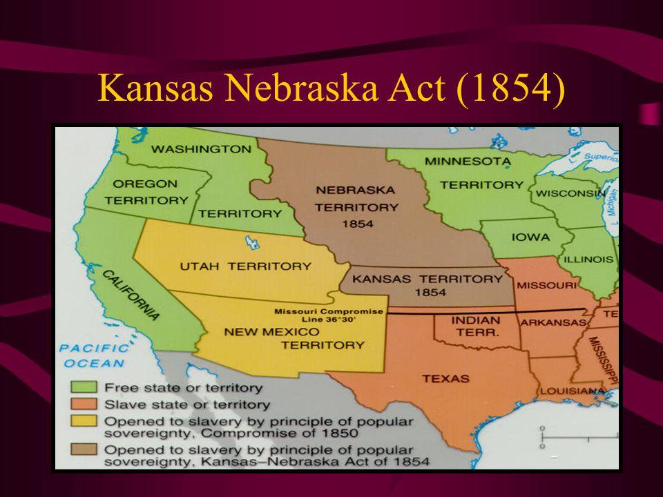 Kansas Nebraska Act (1854)