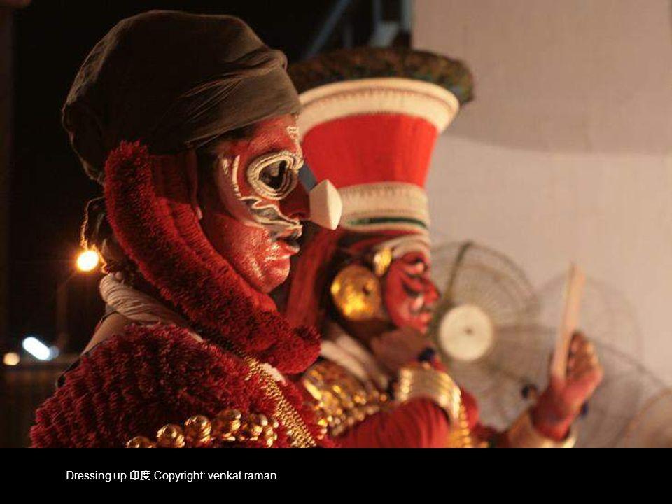 Dressing up 印度 Copyright: venkat raman