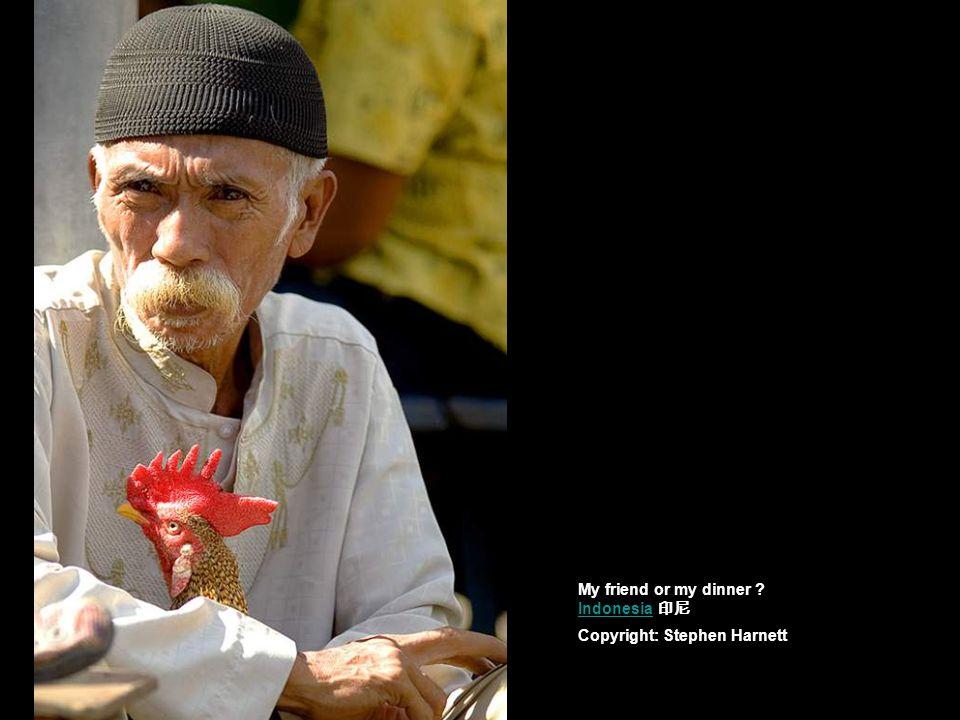 the Yi portraits : man Copyright: Benny Verbercht China 四川