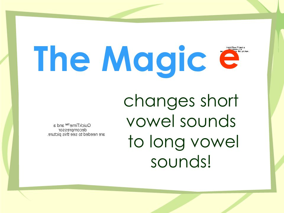 The 'u' Sound With cut - cute dud - dude cub - cube us - use e