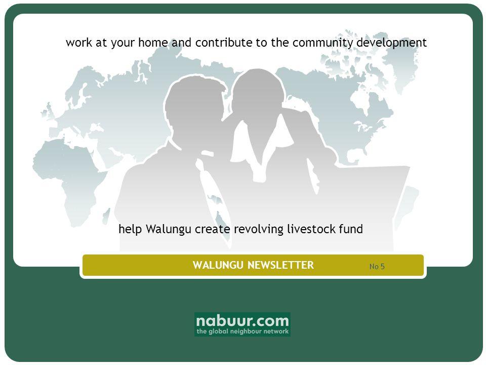 Company Logo www.themegallery.com Dear neighbours and friends of Walungu...