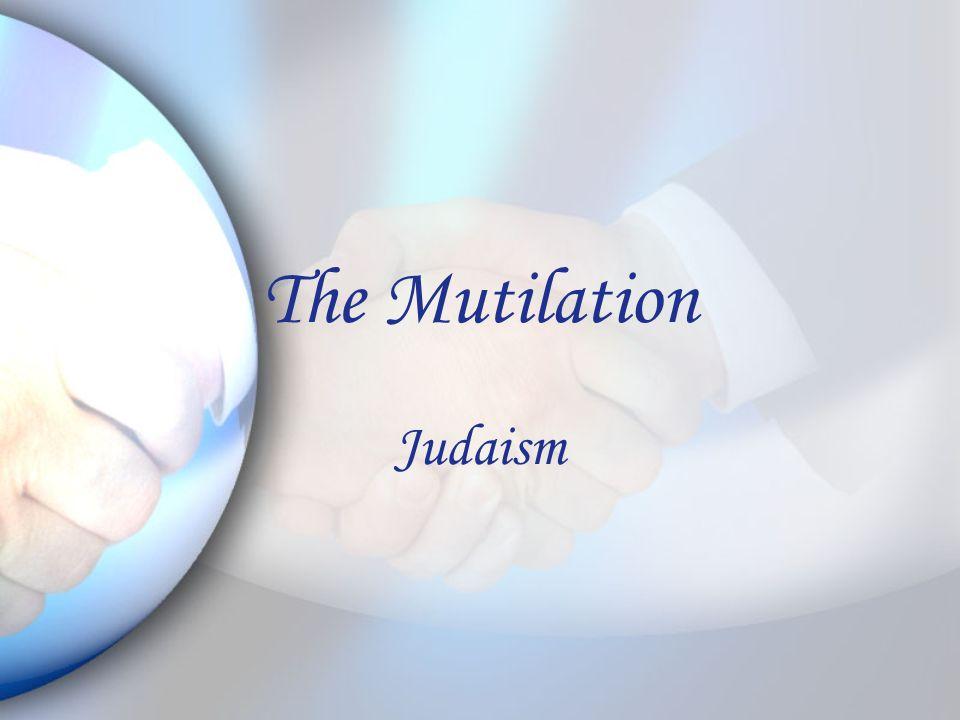 The Mutilation Judaism