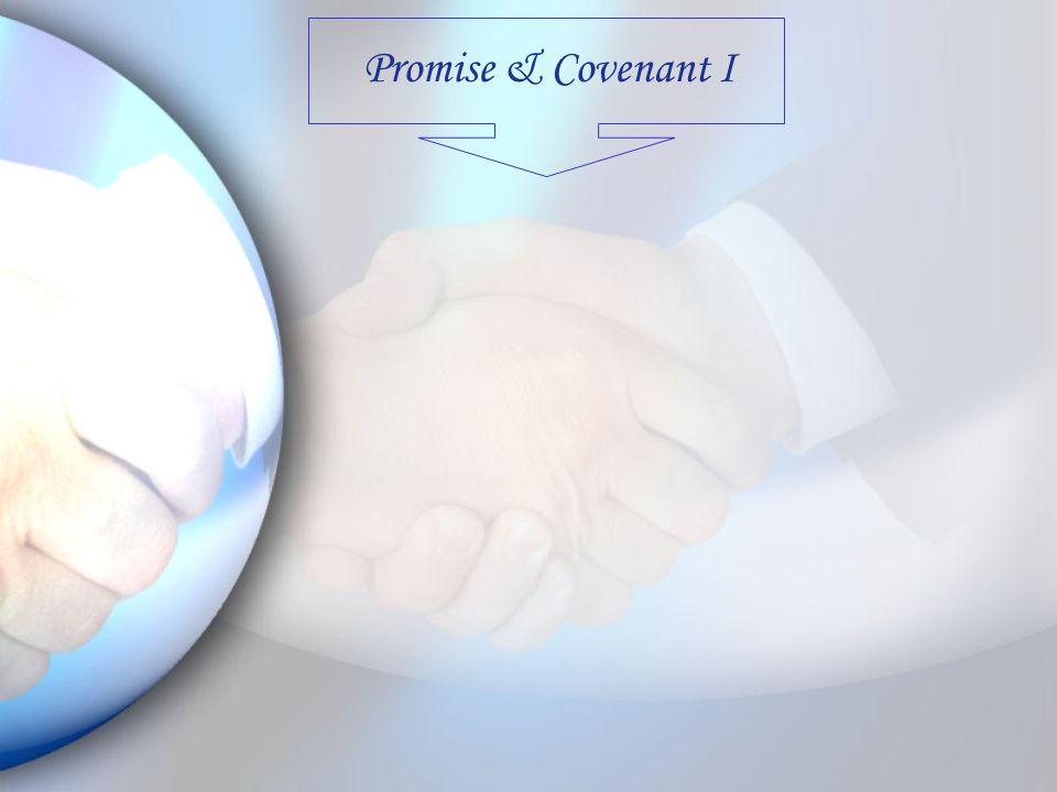 Promise & Covenant I