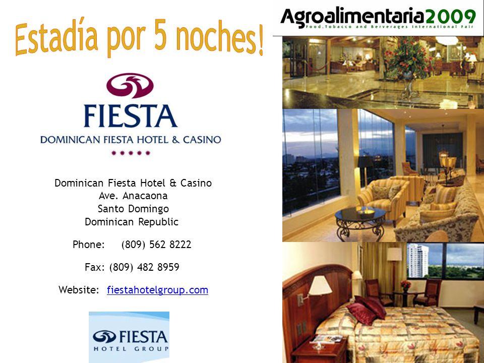 Dominican Fiesta Hotel & Casino Ave.