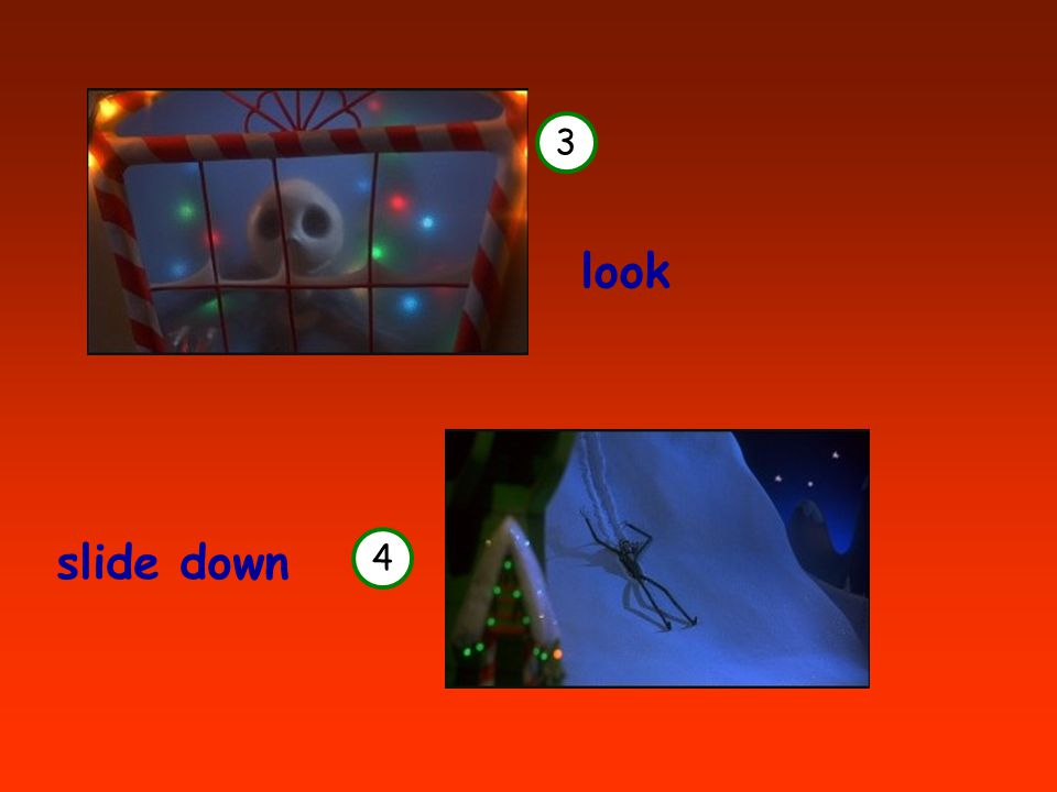 3 4 look slide down