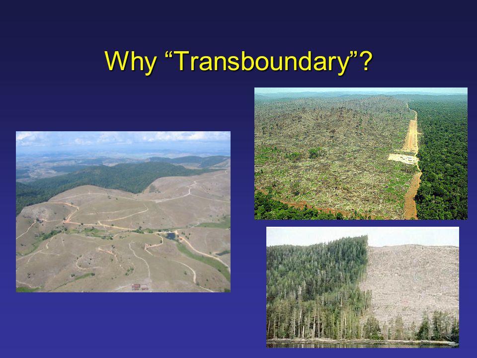 Why Transboundary