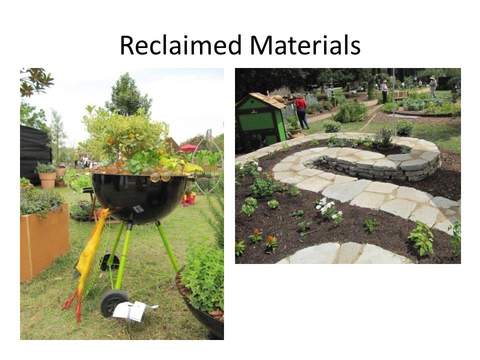 Reclaimed Materials