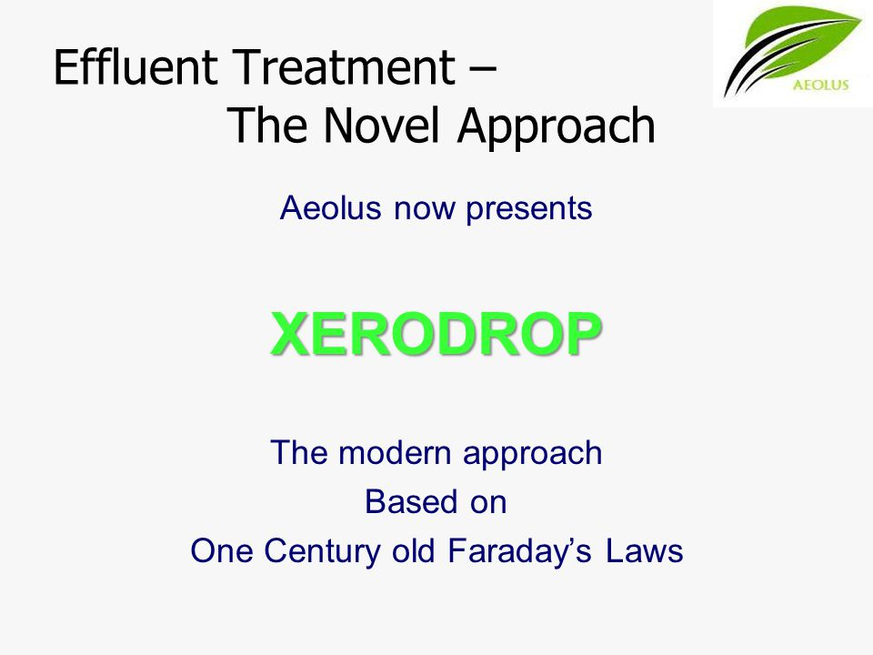 XERODROP Results Before Treatment After Stage 1 Treatment After Final Treatment