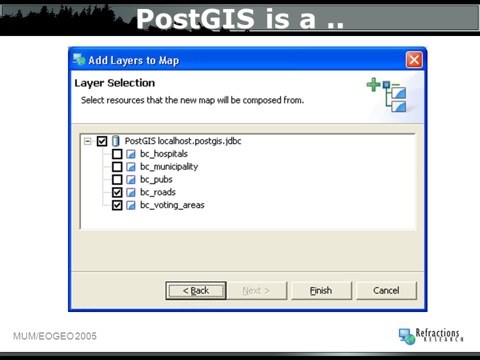 PostGIS is a..