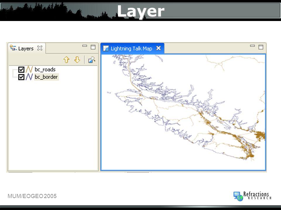 MUM/EOGEO 2005 Layer