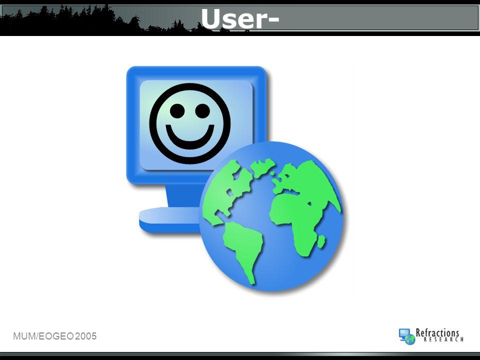 MUM/EOGEO 2005 User-
