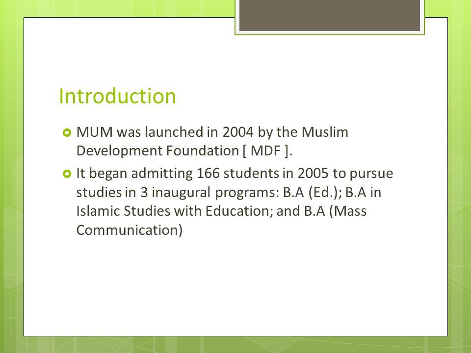 Contact: Muslim University of Morogoro P.O.