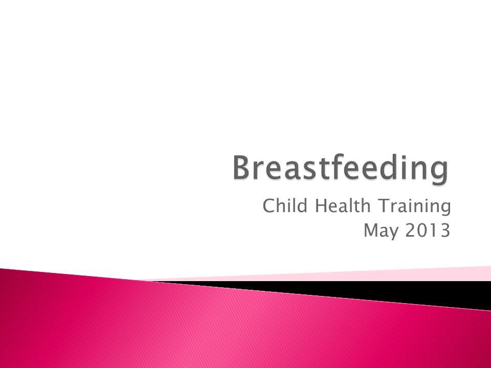 Child Health Training May 2013