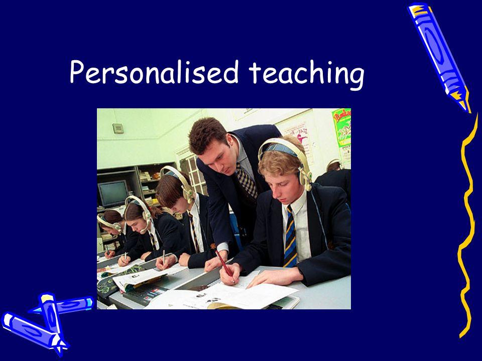 Personalised teaching