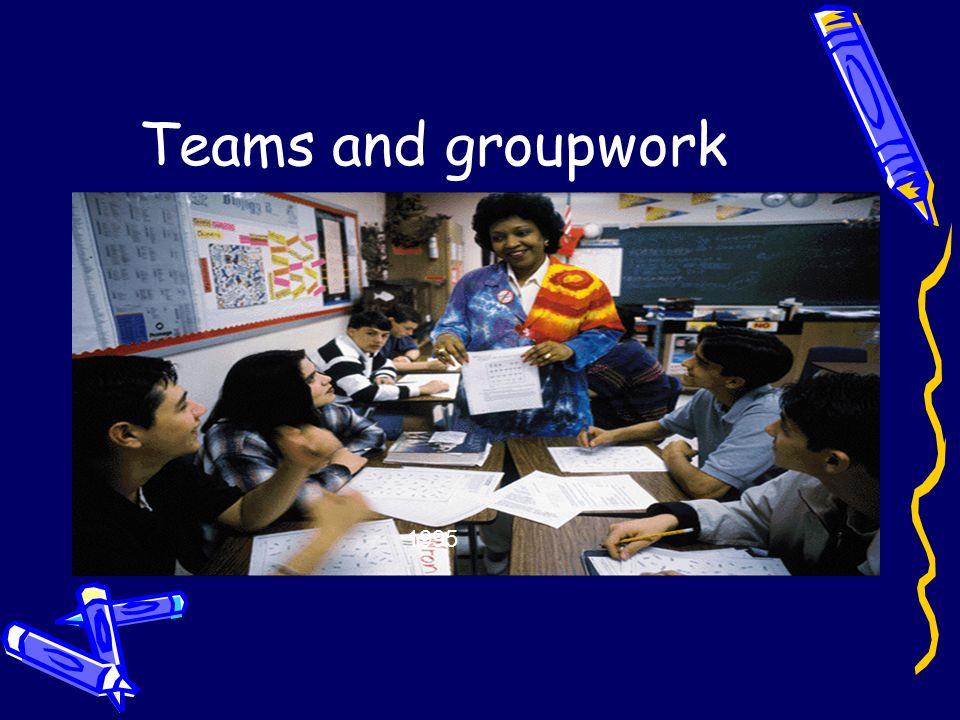 Teams and groupwork 1995