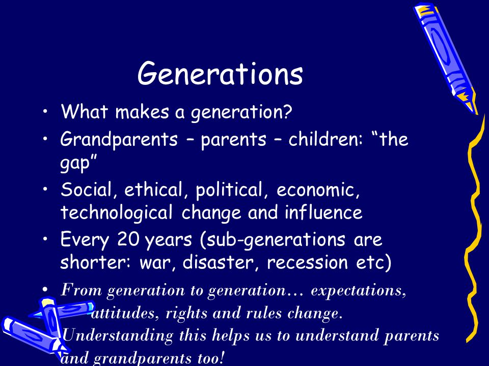 Schools change from generation to generation