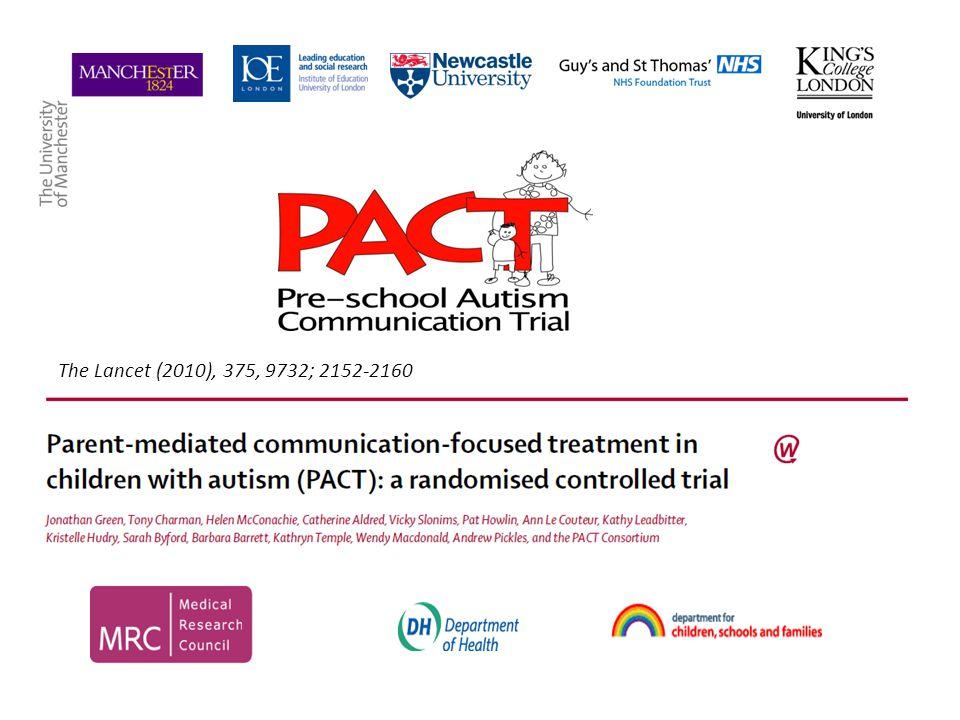 The Lancet (2010), 375, 9732; 2152-2160