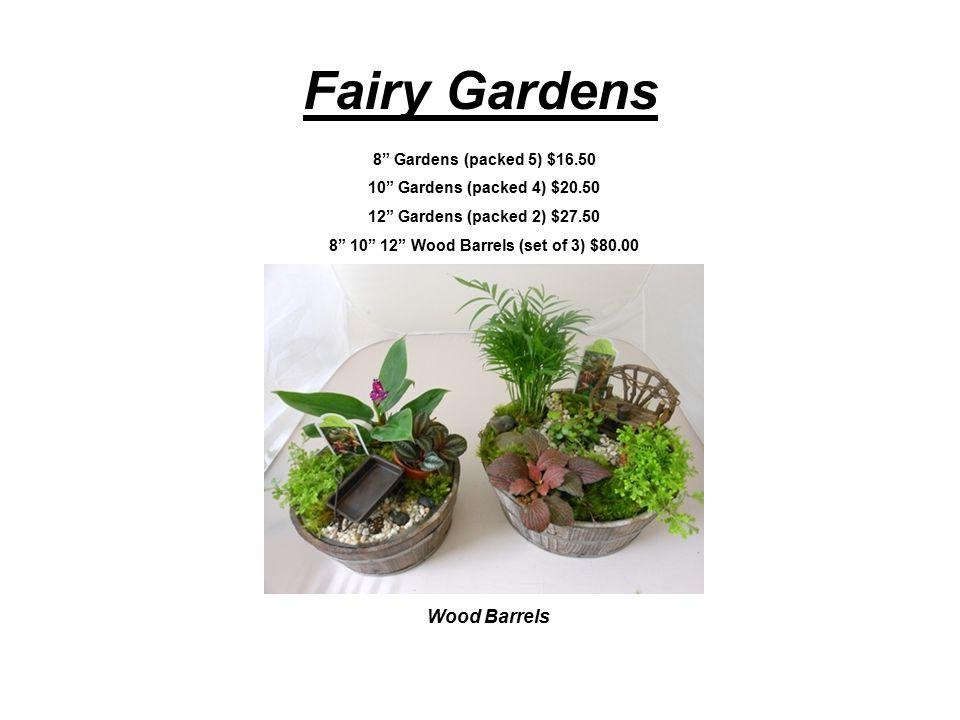 Bonsai Assortment 6 Juniper pk 12 9.00 (10.00 individual) 8 Exotic & Juniper pk 8 14.00 (16.00 individual) 10 Exotic & Juniper pk 4 19.00 (22.00 individual) Wood Grain 6 packed 6 11.50 4 packed 12 7.25