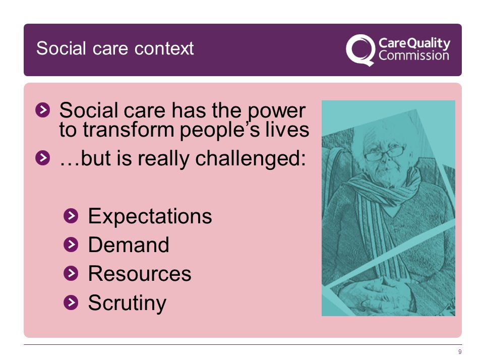 12 Stand up for adult social care Challenges for us all And…always remember why we do this… Celebrate the good Challenge the bad Be positive and honest Work together