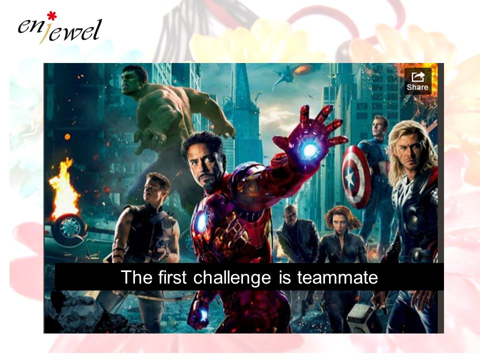 The first challenge is teammate