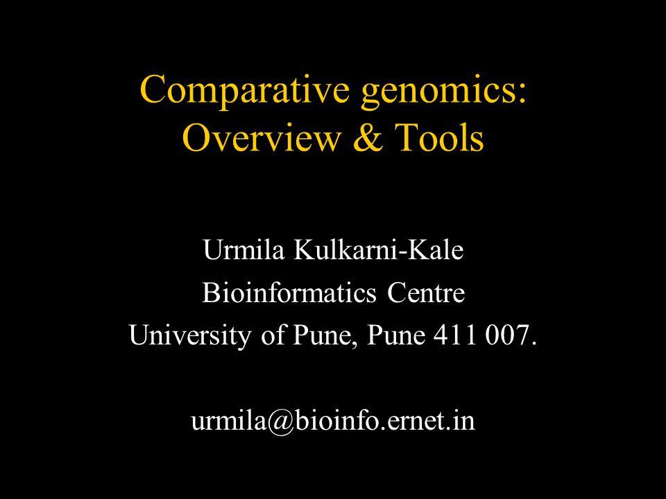 October 2K5© UKK, Bioinformatics Centre, University of Pune.