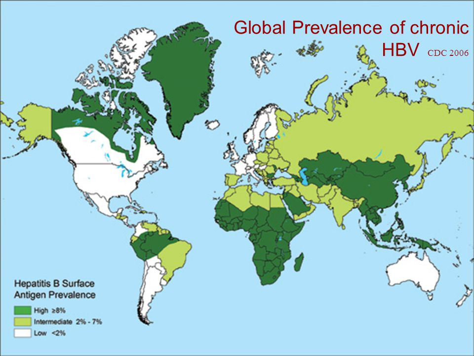 Chronic Hepatitis B in Australia  Low prevalence (<2%), but high in some populations:  Eg.