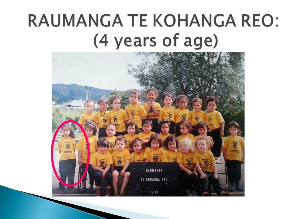 Te wairua and I Te wairua and Reginald From back: Dad, Reginald, Te wairua, Mum, Camron, Aura & Esther WHANAU: