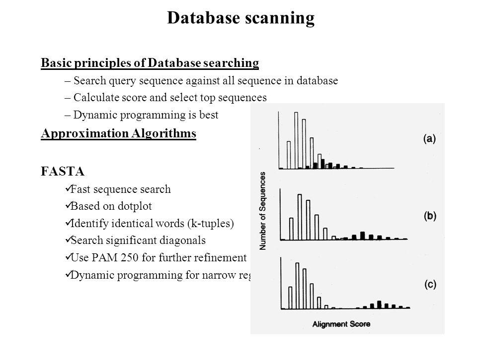 Principles of FASTA Algorithms