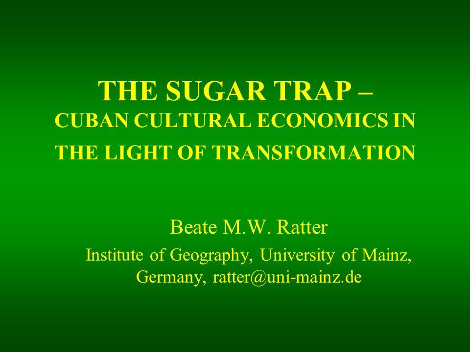 Postrevolutionary Sugar Production