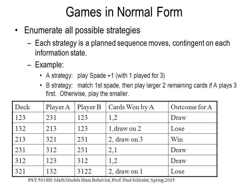 PSY 5018H: Math Models Hum Behavior, Prof.