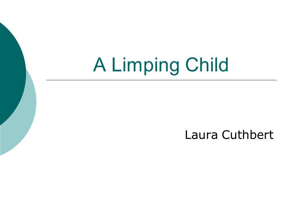 A Limping Child Laura Cuthbert