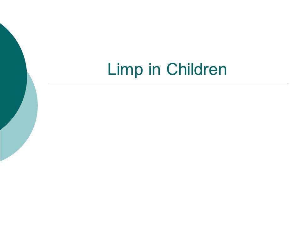 Limp in Children
