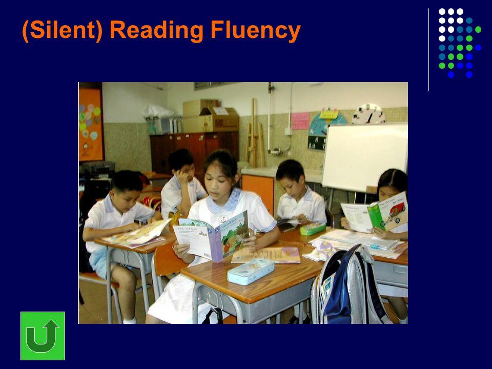 (Silent) Reading Fluency