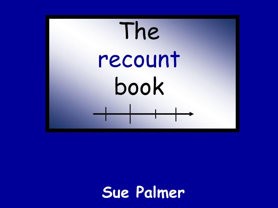 The recount book Sue Palmer