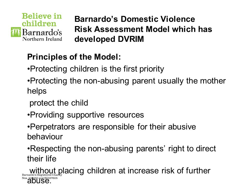 London Safeguarding Board Policy: 'Safeguarding Children Abused Through Domestic Violence' London Safeguarding Board in it's policy document 'Safeguarding Children Abused through Domestic Violence'.