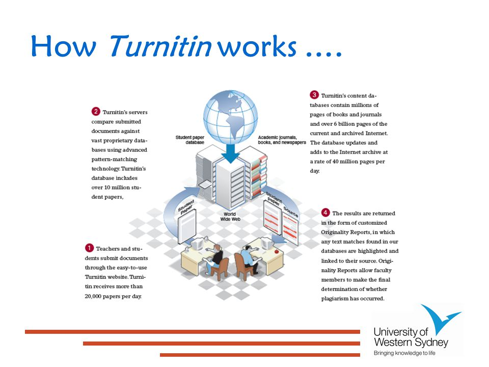 How Turnitin works ….