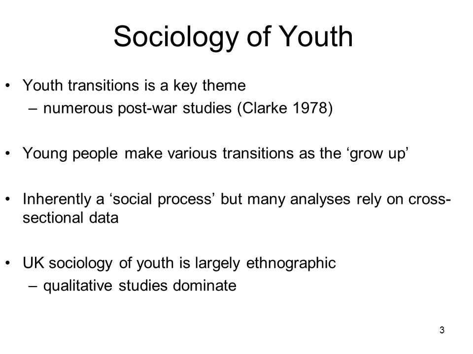 14 Youth Cohort Study of England & Wales (YCS) Major Longitudinal Study Began in the Mid 1980s Designed to monitor behaviour of young people as they reach the minimum school leaving age and either stay on in education or enter the labour market