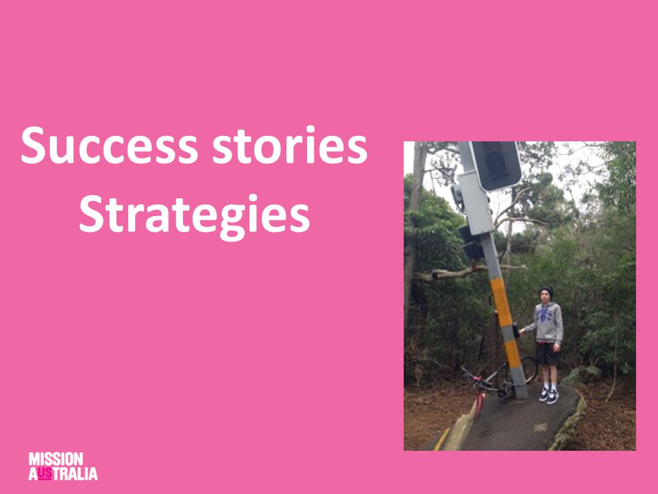 Success stories Strategies