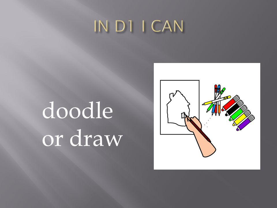 doodle or draw