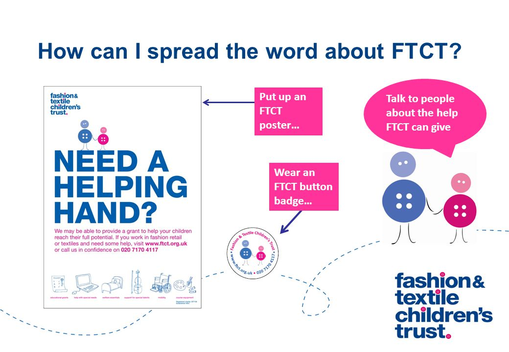 How can I spread the word about FTCT.