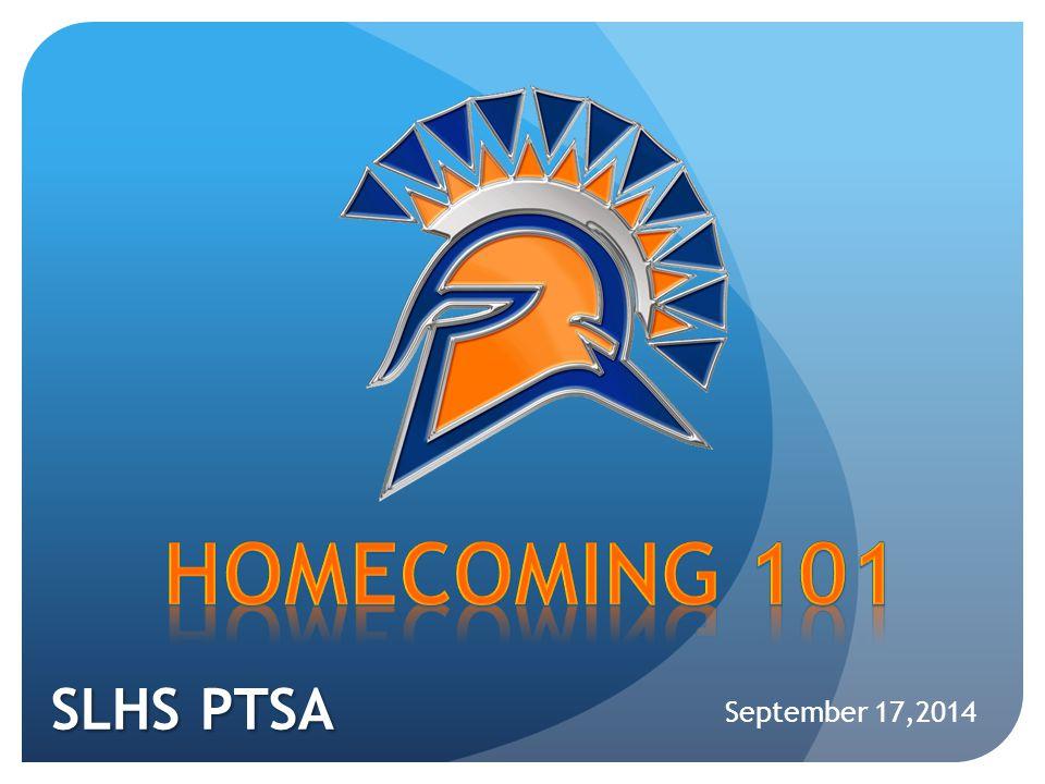 SLHS PTSA September 17,2014