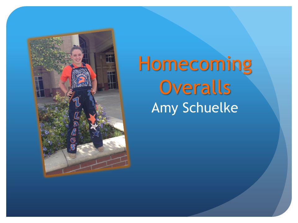 Homecoming Overalls Homecoming Overalls Amy Schuelke