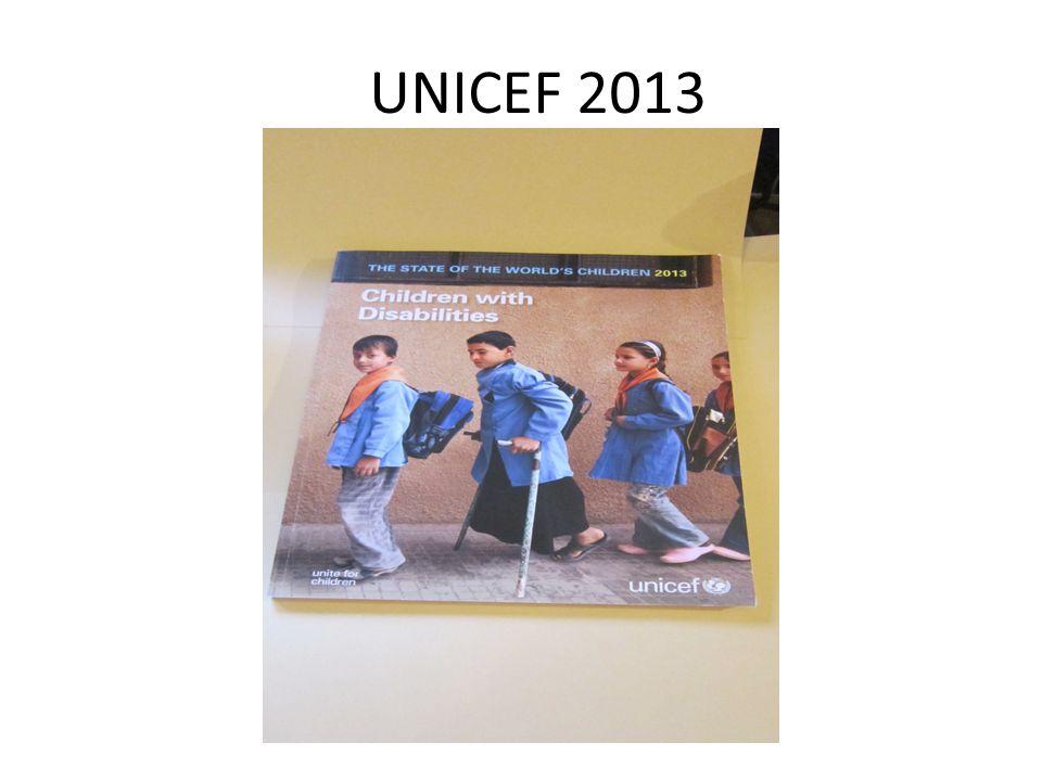 UNICEF 2013