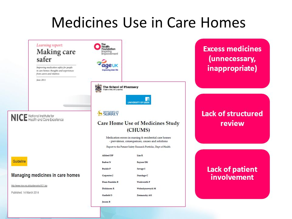 Are there any medicines, not currently prescribed, that the patient would benefit from.