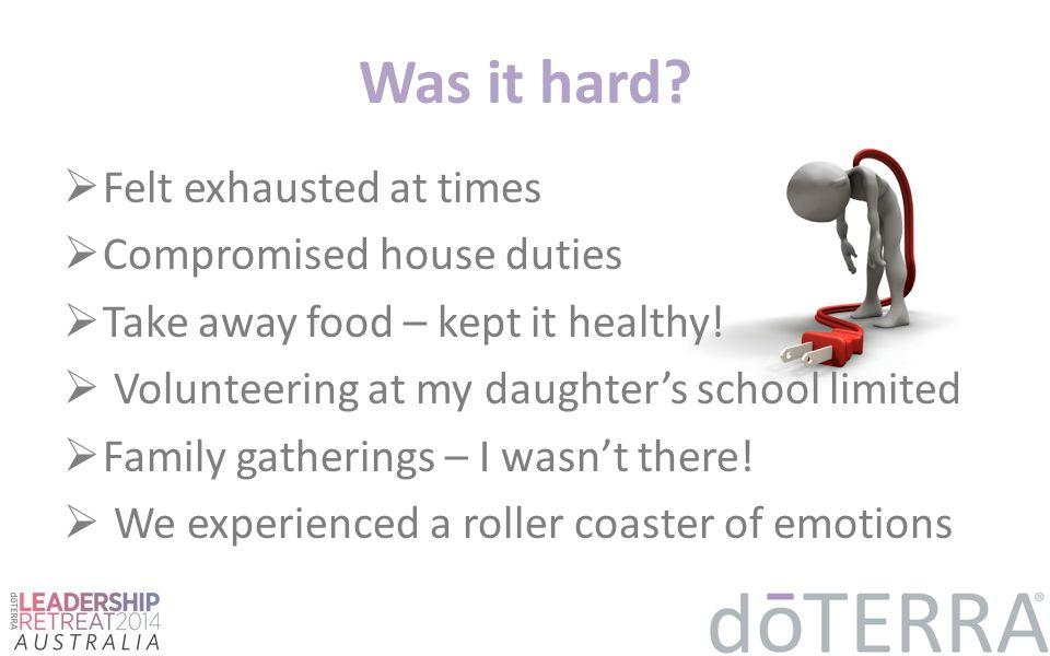 Was it hard.