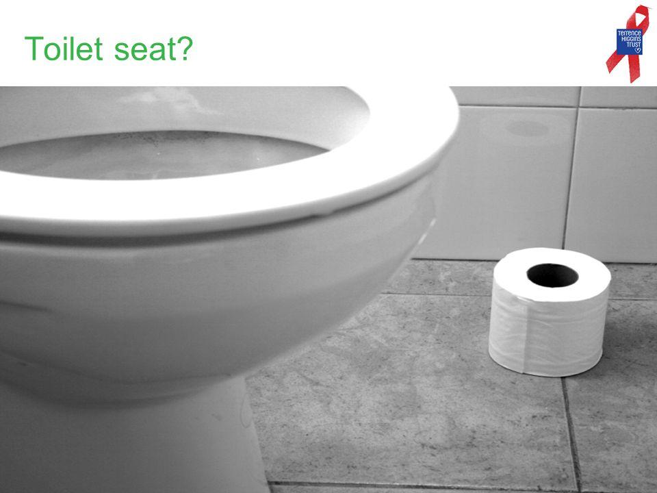 Toilet seat?