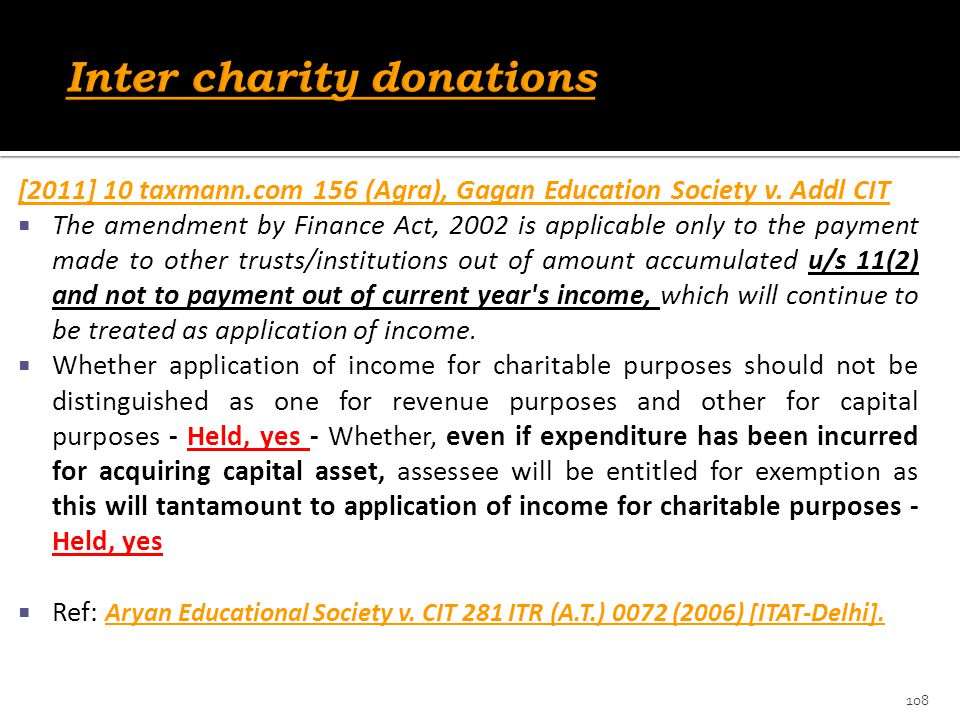 [2011] 10 taxmann.com 156 (Agra), Gagan Education Society v. Addl CIT  The amendment by Finance Act, 2002 is applicable only to the payment made to o