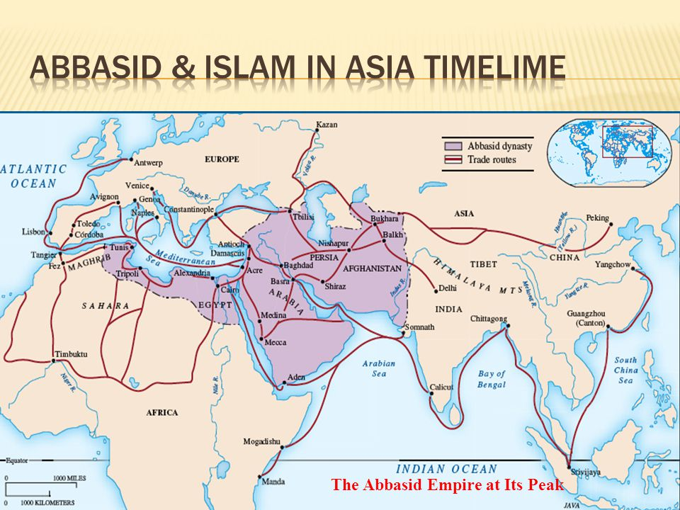 The Abbasid Empire at Its Peak