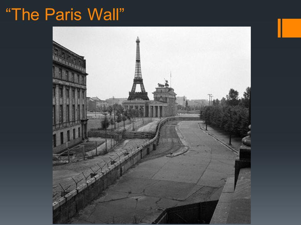 The Paris Wall
